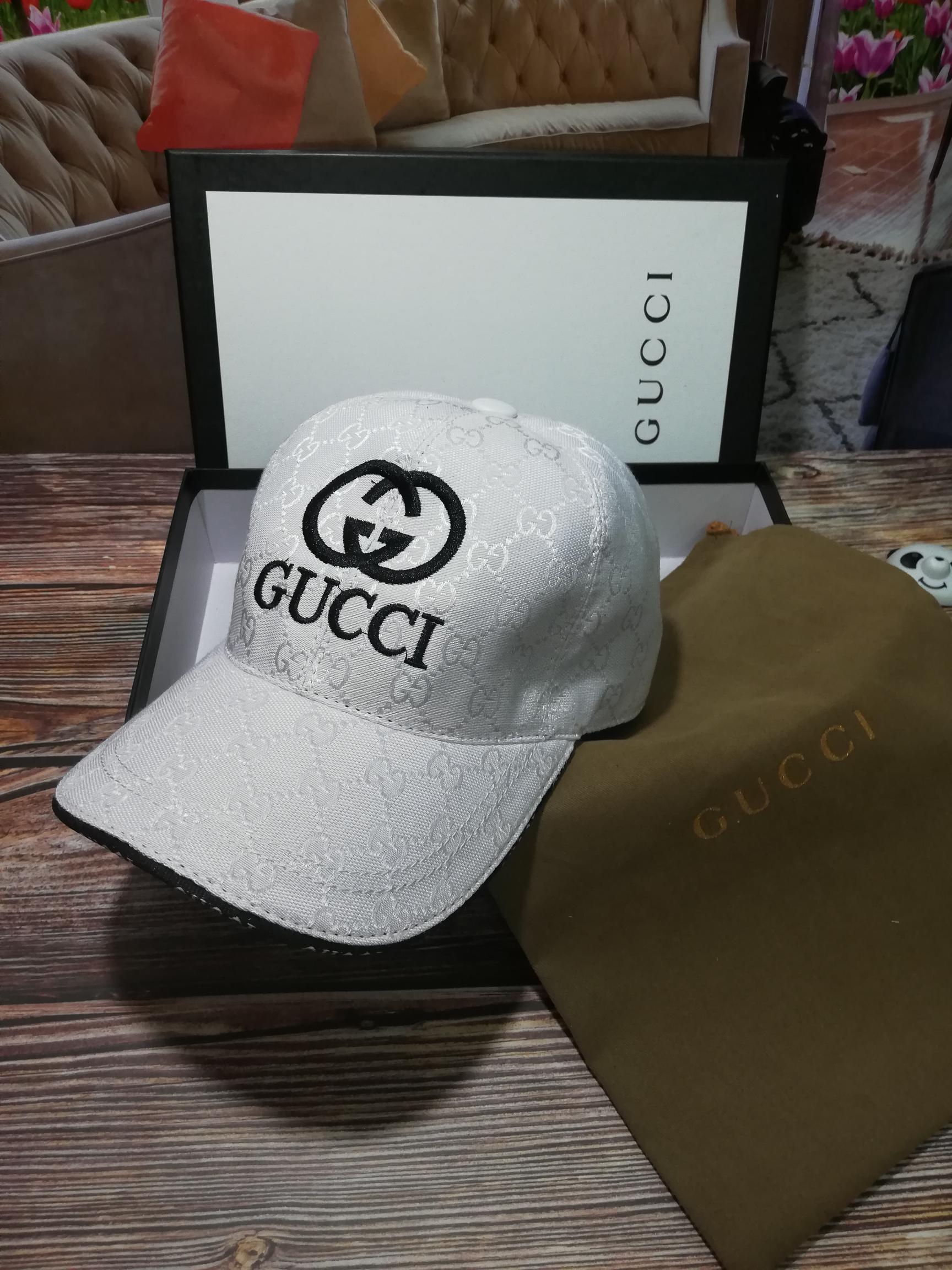 古奇Gucci刺绣高端棒球帽(图3)