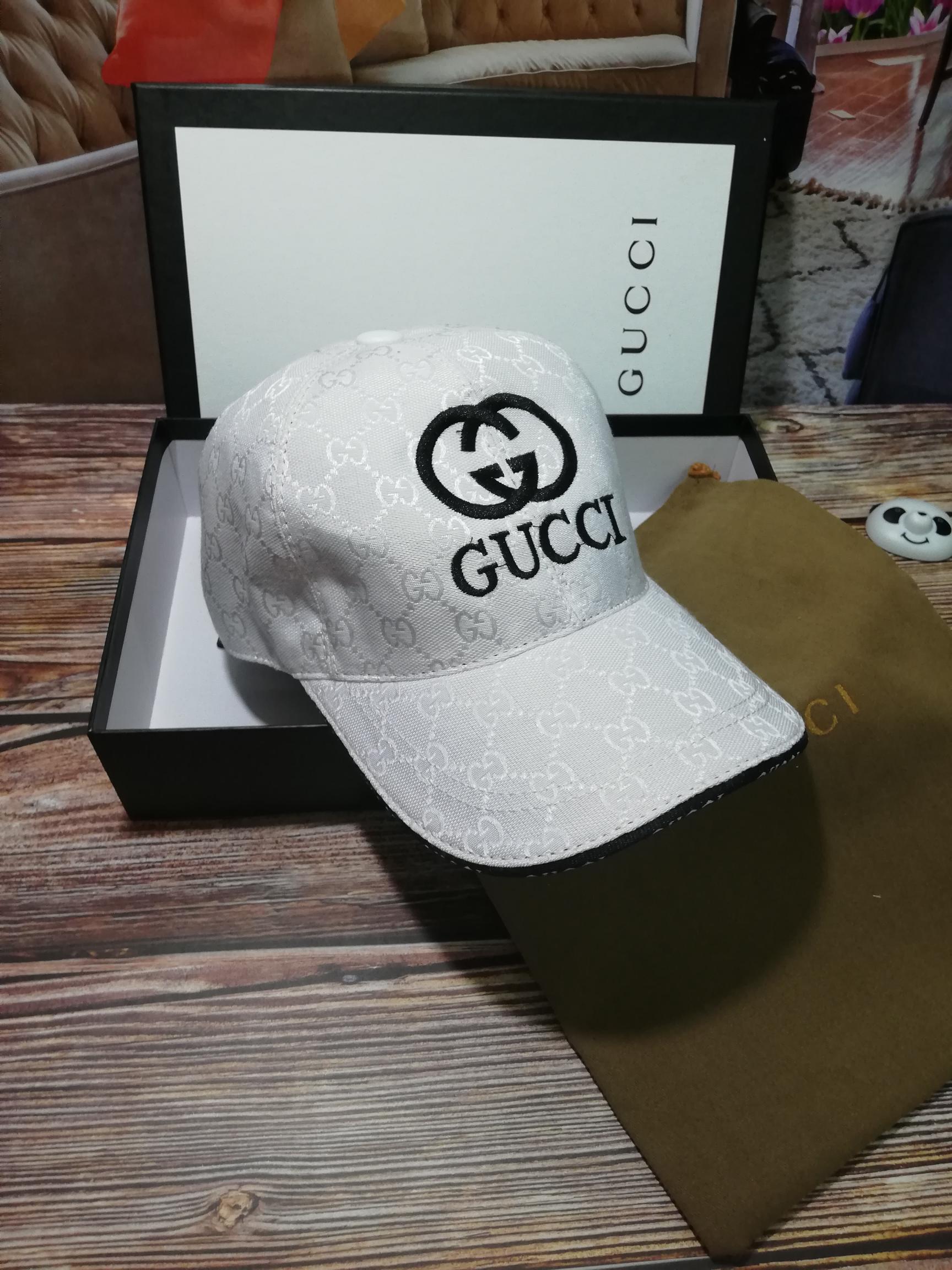 古奇Gucci刺绣高端棒球帽(图4)
