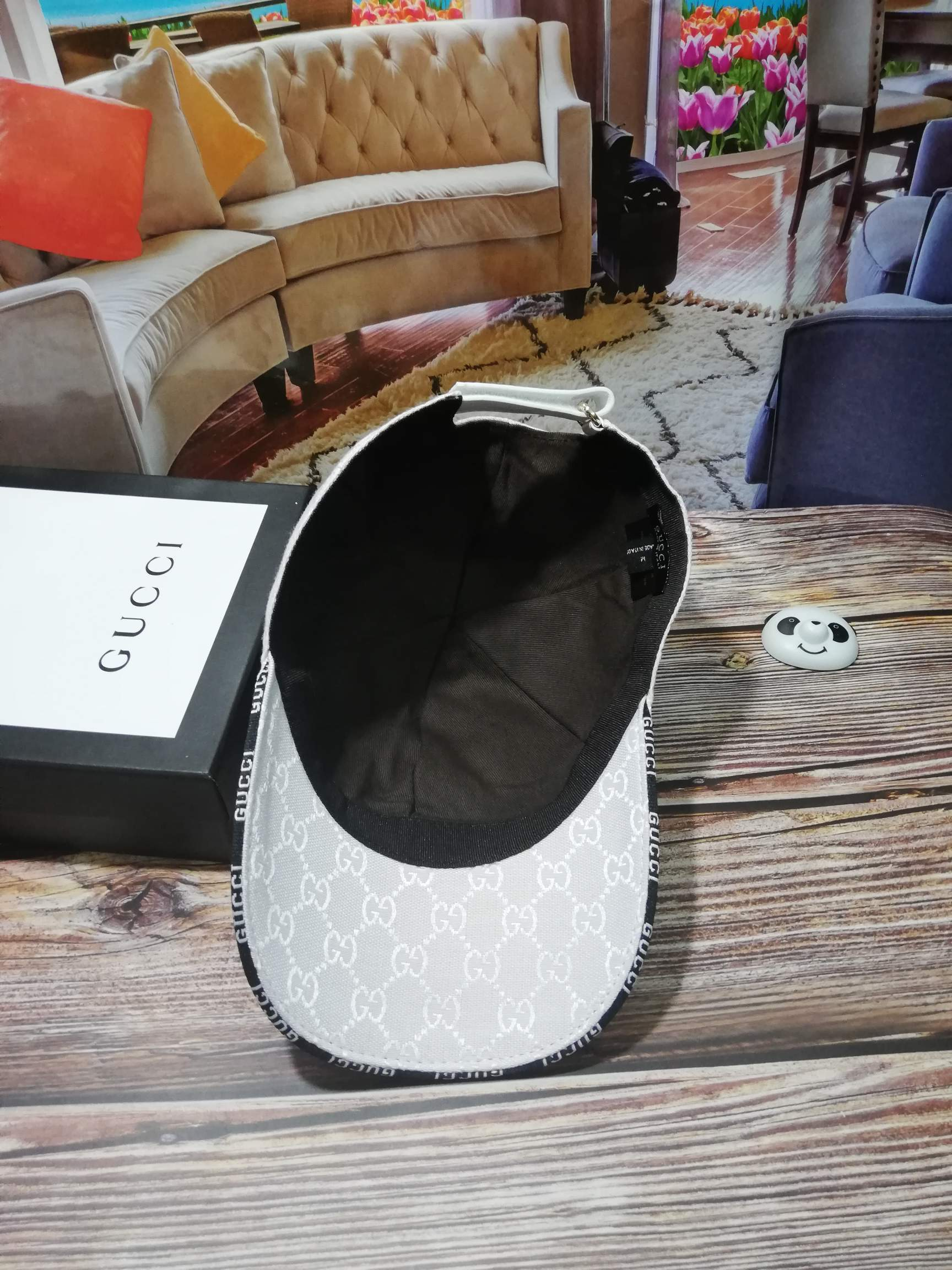 古奇Gucci刺绣高端棒球帽(图5)